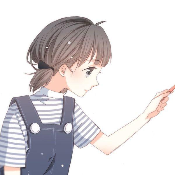 江应怜与狄淇儿情侣头像图片_怦然心动漫画头像